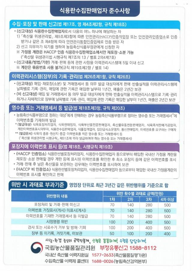 축산물이력제 홍보 리플릿(식용란선별포장처리업, 식용란수집판매업).pdf_page_2.jpg
